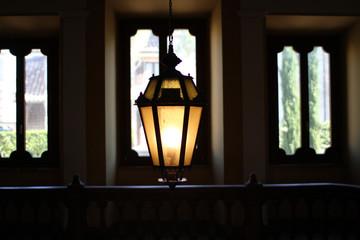 indoor chandelier - vintage lamp