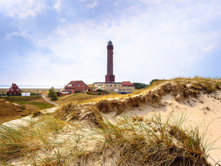 Keuken foto achterwand Europese Plekken Insel Norderney Leuchtturm