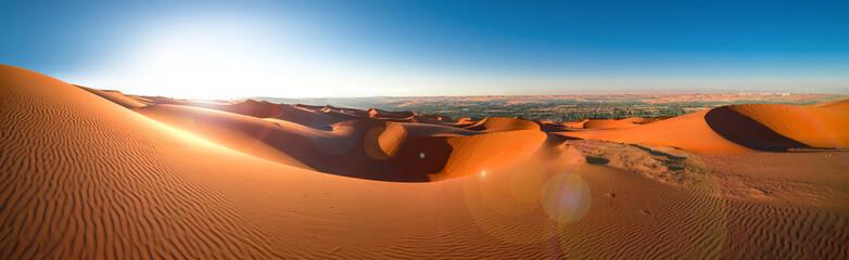 Desert Rub' al Khali, Emirates, Abu Dhabi, Liwa, Jan.2018 Fotoväggar