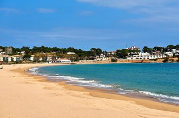 Coastline of Sagaro, is a resort on the Costa Brava. Catalonia, Spain