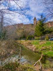 Albarracin, pueblo historico de Teruel en Aragon, España