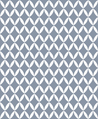 Classic seamless pattern of gray and white.