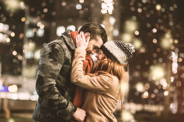 love winter couple