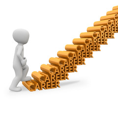career steps for the success