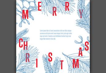 Christmas Post Layout