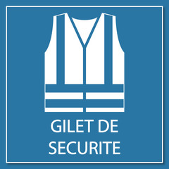 Logo gilet de sécurité.