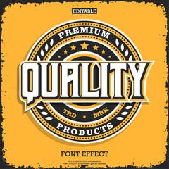 Premium emblem logo with detailed elements
