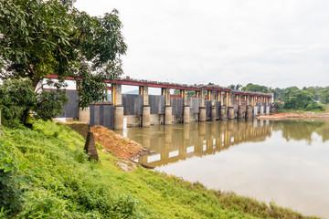 Bhoothathankettu Barriage Dam from Kerala, India