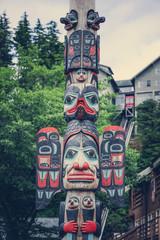 Old totem pole