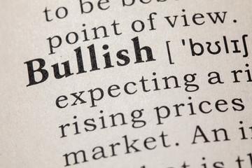 definition of bullish