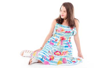 9ccff23571 Little girl smilling