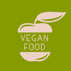 Vegan or vegetarian badge