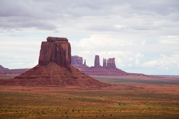 Buttes at Monument Valley