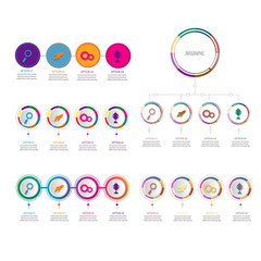 creative timeline infographic template element for diagram,workflow,process,presentation, data chart with modern concept design