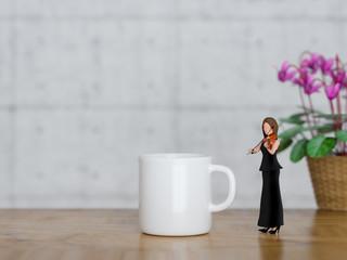 カフェとクラシック