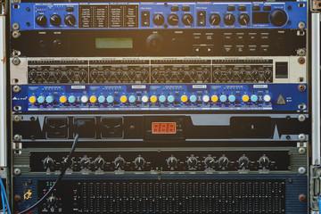 Audio Recording Equipment.