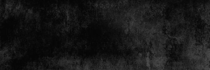 Eine fast schwarze und alten Betonwand, Textur, als Hintergrund