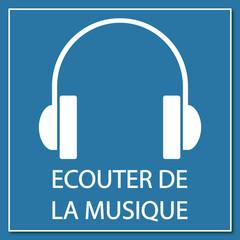Logo écouter de la musique.