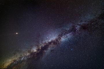 Mars and Milky Way