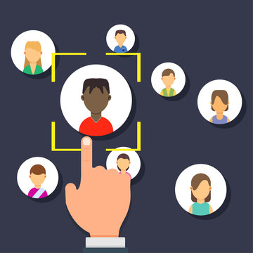 Outsource management illustration development business corporate teamwork sign. Resources manage employment strategy career. Solution analysis hiring worker. Finance delegate strategic talent offshore