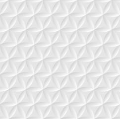Vector modern seamless pattern. Volumetric geometric pattern