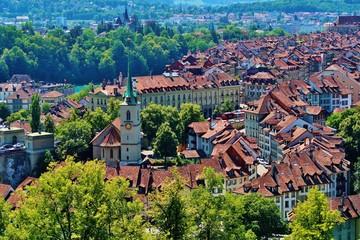 Bern, Altstadt mit Nydeggkirche