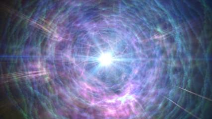 black hole nebula star