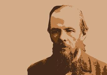 Dostoïevski - portrait - personnage - écrivain - célèbre - historique - romancier - russe - Russie