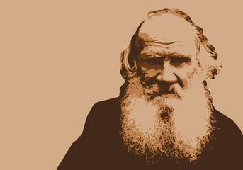 Tolstoï - portrait - personnage - célèbre - écrivain - historique - romancier -  russe - Russie - théâtre