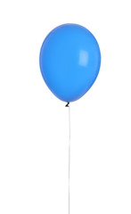 Color balloon on white background. Celebration time