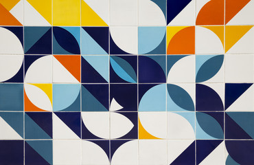 Retro pattern ceramic tiles