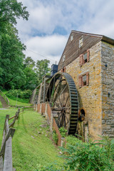 Rock Run Gristmill at Susquehana State Park Maryland