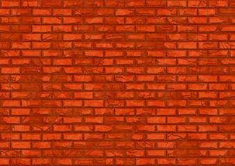 hi-res red brick wall pattern
