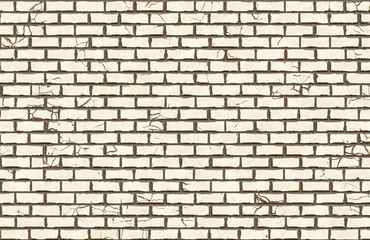 hi-res white brick wall pattern