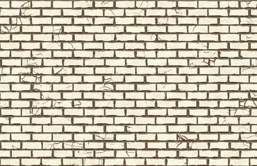 hi-res white brick wall pattern
