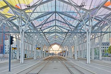 Dworzec Tramwajowy Centrum- Łódź, Polska