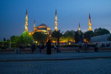 Istanbul Blue Mosque Landmark
