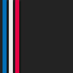 affiche, drapeau bleu/blanc/rouge