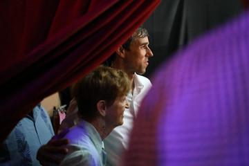 Beto O'Rourke the 2018 Democratic Candidate for U.S. Senate in Texas campaigns in McAllen