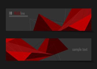 vector modern banners templates
