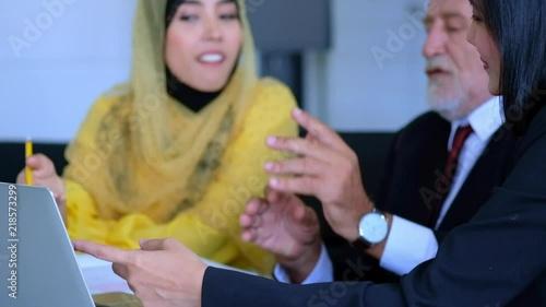 Arab Business Concepts,Beautiful Muslim Arabic woman