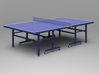 [3D CG] 卓球台