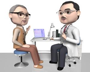 患者と医師 50代