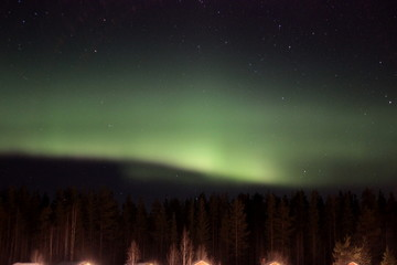Nothern lights in finland