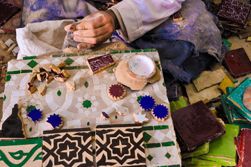 Craftmen from Morocco