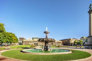 Stuttgart castle square