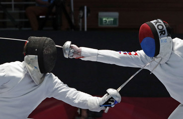 2018 Asian Games – Fencing