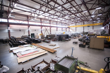 Metalworking plant. Production shop