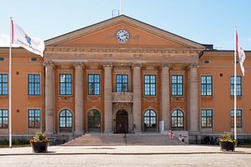 Das historische Rathaus von Karlskrona