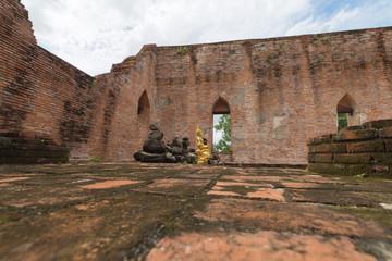 タイ・アユタヤ・世界遺産・遺跡・仏陀